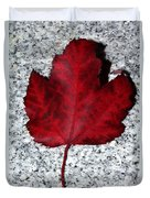 Autum Maple Leaf 1 Duvet Cover