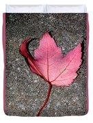 Autum Maple Leaf 2 Duvet Cover