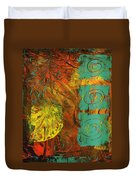 Autumen Abstract Duvet Cover