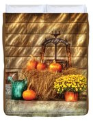 Autumn - Pumpkin - A Still Life With Pumpkins Duvet Cover