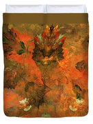 Autumn Abstract 103101 Duvet Cover