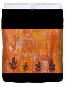 Autumn Abstract Art  Duvet Cover
