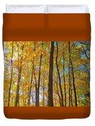 Autumn Afternoon Light Duvet Cover