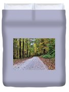 Autumn Along A Country Road 1 Duvet Cover