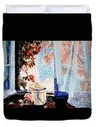 Autumn Aromas Duvet Cover