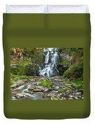 Autumn At Chittenango Falls Duvet Cover