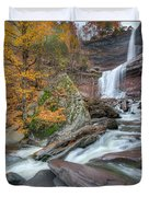 Autumn At Kaaterskill Falls Duvet Cover
