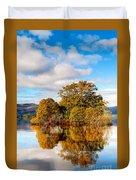 Autumn At Milarrochy Bay Duvet Cover