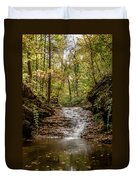 Autumn At Mill Creek Duvet Cover