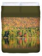 Autumn At North Lake Duvet Cover
