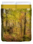 Autumn At Rim Rock Duvet Cover