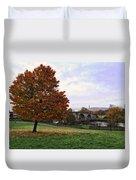 Autumn At Stirling Bridge Duvet Cover