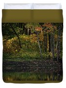 Autumn At Wrights Pond Duvet Cover