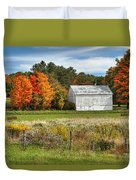 Autumn Barn Duvet Cover