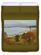 Autumn Beachcombers  Duvet Cover