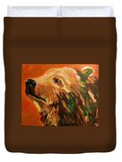 Autumn Bear Duvet Cover