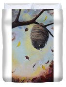 Autumn Beehive  Duvet Cover