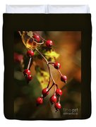 Autumn Berries Duvet Cover