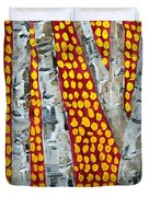 Autumn Birch Duvet Cover