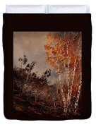 Autumn Birches  Duvet Cover