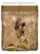 Autumn Blackberries Duvet Cover