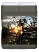 Autumn Blessings  Duvet Cover by Kim Loftis