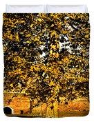 Autumn Boredom Duvet Cover