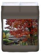 Autumn Bridge Duvet Cover