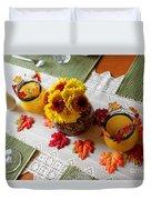 Autumn Centerpiece Duvet Cover