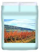 Autumn Cherry Orchard Duvet Cover