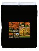 Autumn Collage Duvet Cover