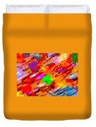 Autumn Color Blurs 144 Duvet Cover