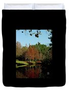 Autumn Color Reflected Duvet Cover