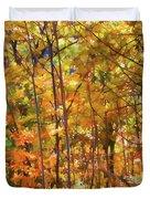 Autumn Colored Duvet Cover