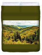 Autumn Colors In The Smokies Duvet Cover