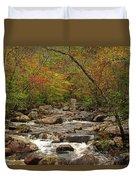 Autumn Colors On Pickle Creek 2 Duvet Cover