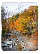 Autumn Creek 3 Duvet Cover