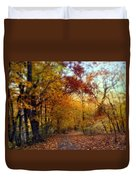 Autumn Crescendo Duvet Cover