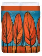 Autumn Dance Duvet Cover