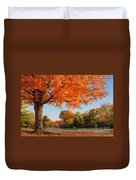 Autumn Dawn Duvet Cover by Brian Jannsen