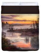 Autumn Dawning Duvet Cover