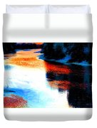 Autumn Down By The River Duvet Cover