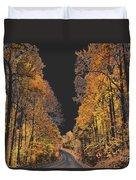 Autumn Drive 2 Duvet Cover