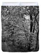 Autumn Drive Bnw Duvet Cover