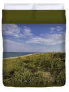 Autumn Dune View Duvet Cover