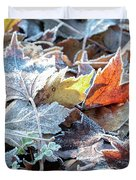 Autumn Ends, Winter Begins 3 Duvet Cover