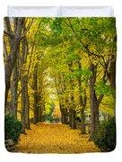 Autumn Entrance 2 Duvet Cover
