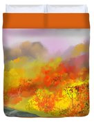Autumn Expression Duvet Cover
