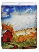 Autumn Farm Duvet Cover