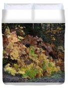 Autumn Ferns Duvet Cover